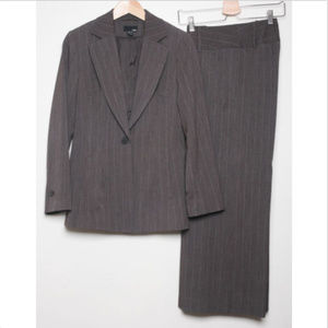H&M 2pc Set Blazer and Pant Pin-Striped